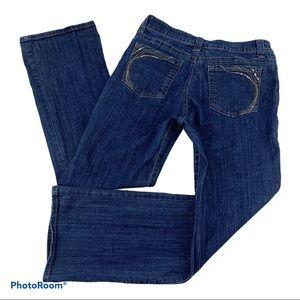 LEE Slender Secret Stretch Boot Cut Jeans 14 32x31